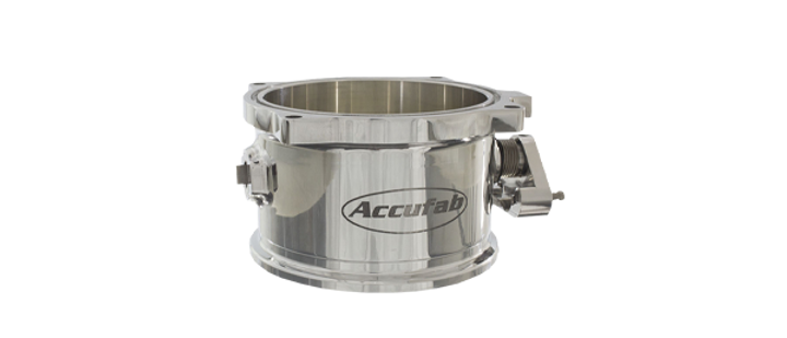 ACCUFAB 125MM V-BAND COMPATIBLE  THROTTLE BODY