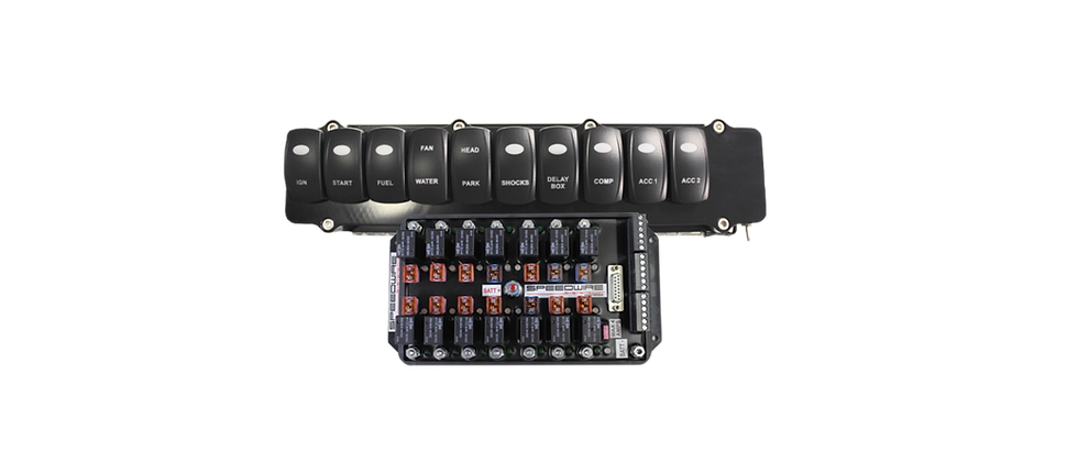 SPEEDWIRE 14-RELAY CONTROLLER &  10 SWITCH PANEL