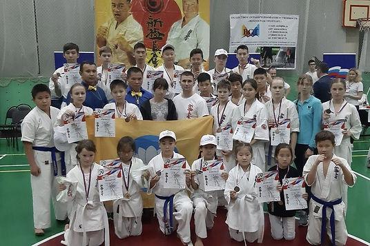 2-й Открытый турнир по Синкиокусинкай каратэ «Кубок Черноземелья 2019»
