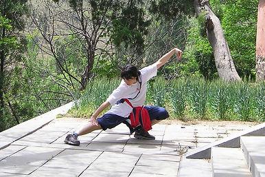 У ворот женского монастыря Шаолинь.jpg