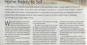What to do to get your home ready to sell