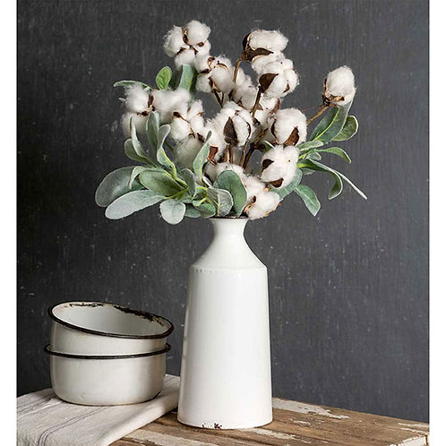 Metal Milk Bottle Vase