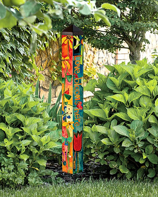 "Studio M - Love Garden 40"" Art Pole"