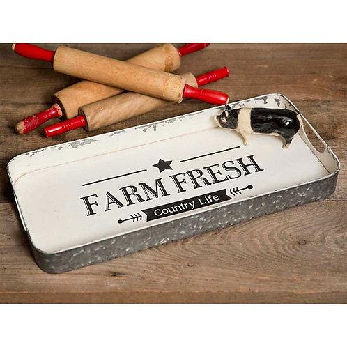 Farm Fresh Serving Tray