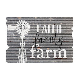 Faith Family Farm Sign