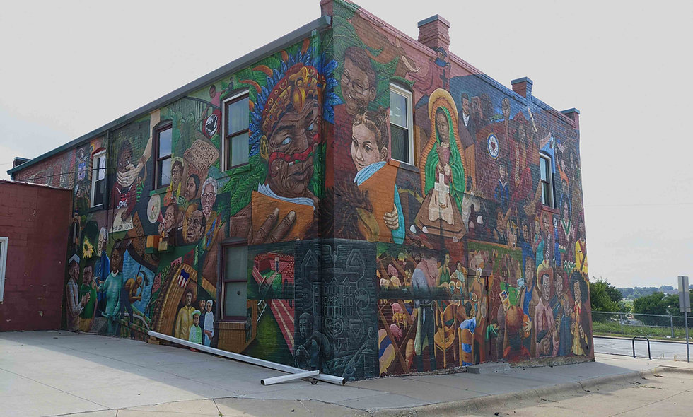 Mexican American Mural
