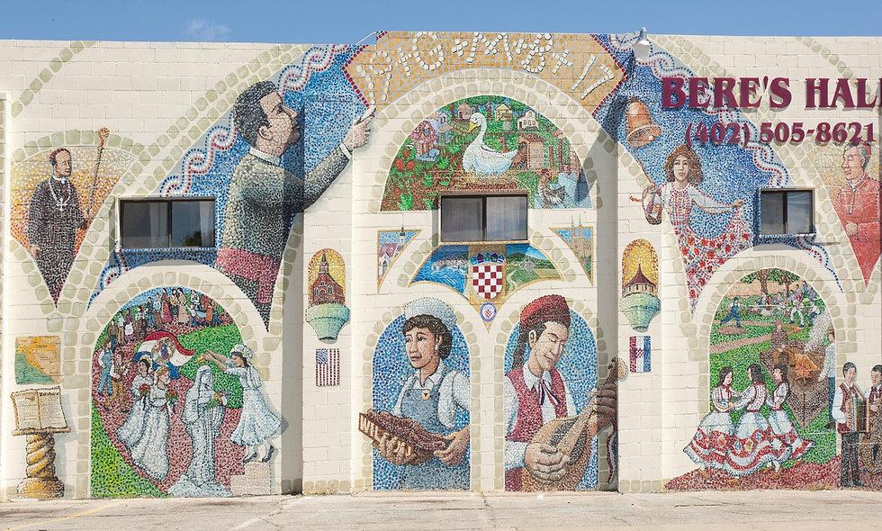 Croatian Mural