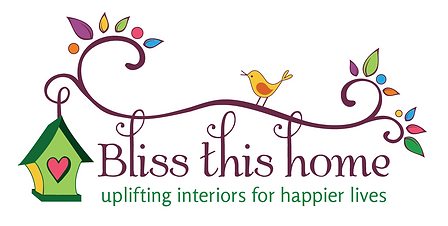 Bliss This Home logo; Boston area positive interior design