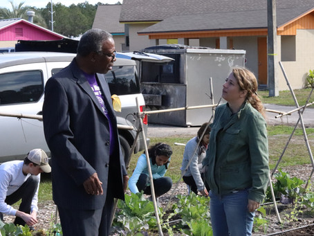 Grace Grows Awarded Federal Grant to Increase Food Sovereignty in Southeast Gainesville