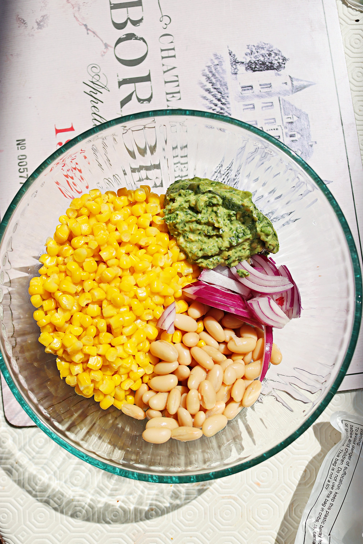 Corn Salad With Pesto Aioli