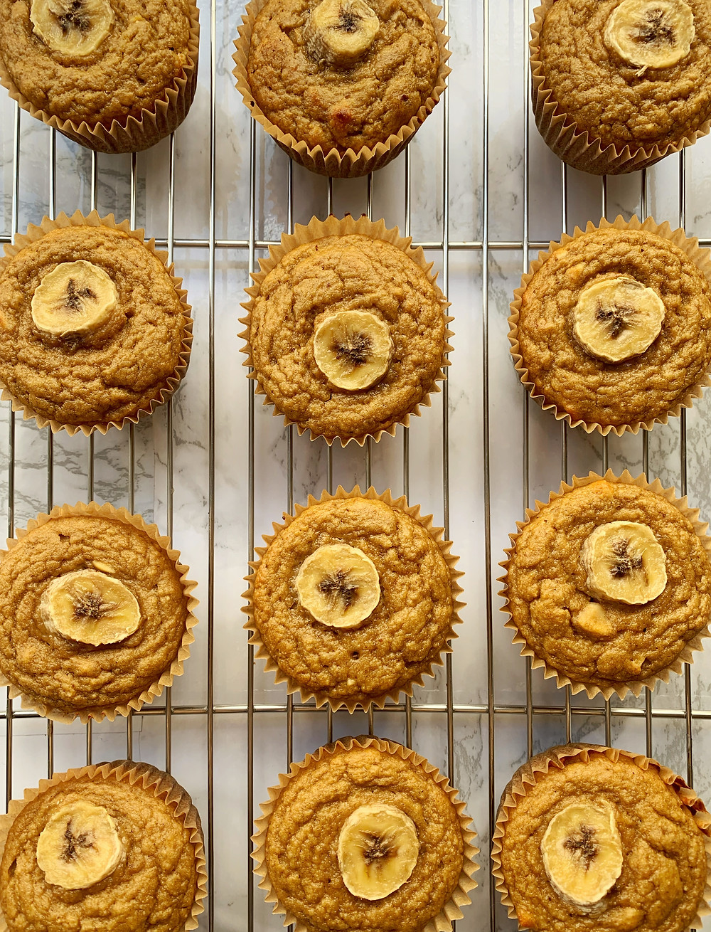 Protein Peanut Butter Banana Muffins
