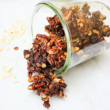 Gingerbread Granola (Vegan, GF-Friendly)