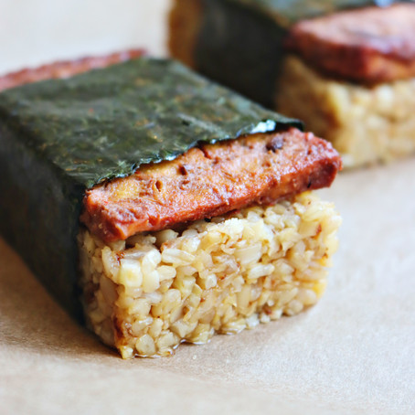 Vegan Spam Musubi (Keto-Friendly, GF)