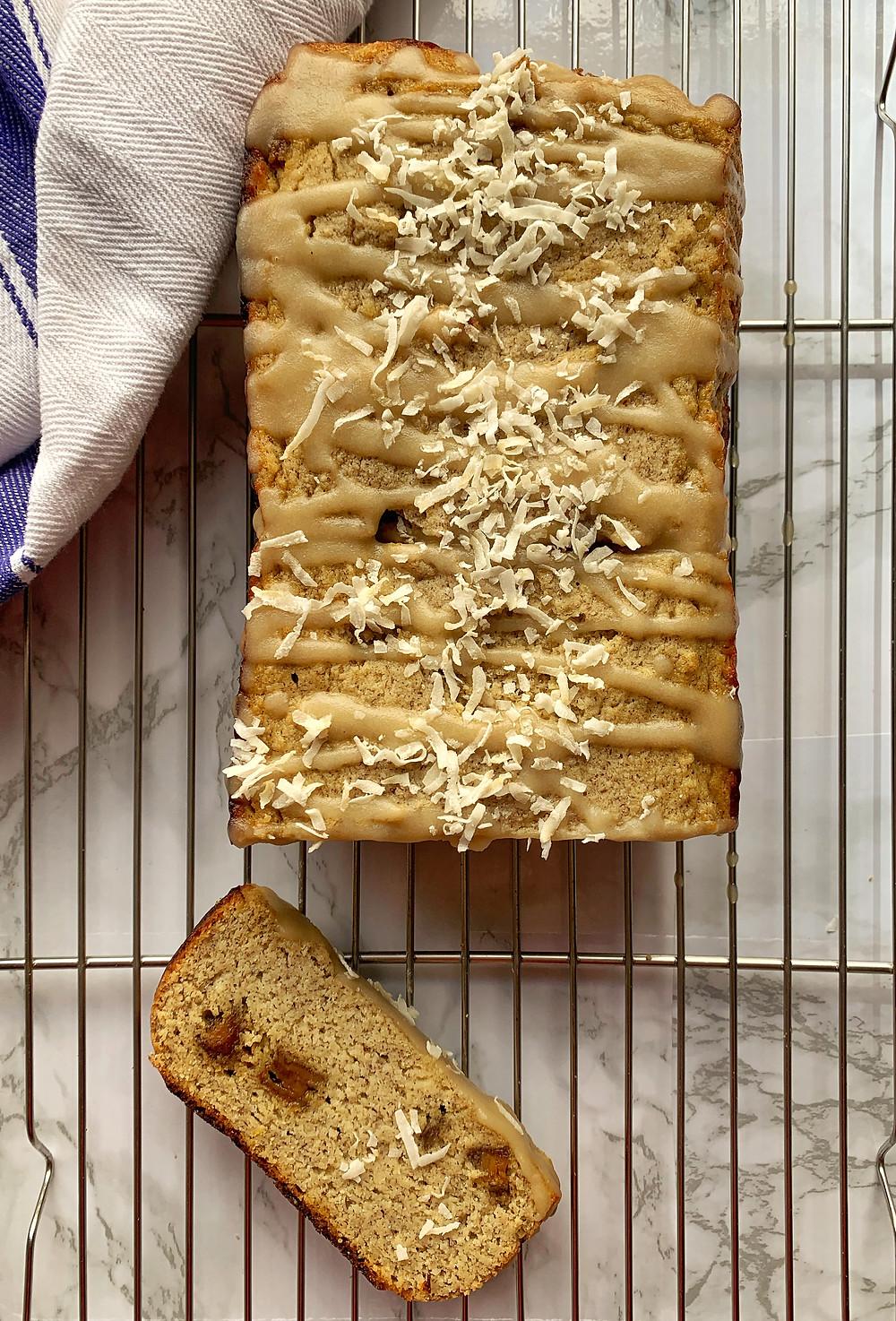 Coconut Honey Banana Bread