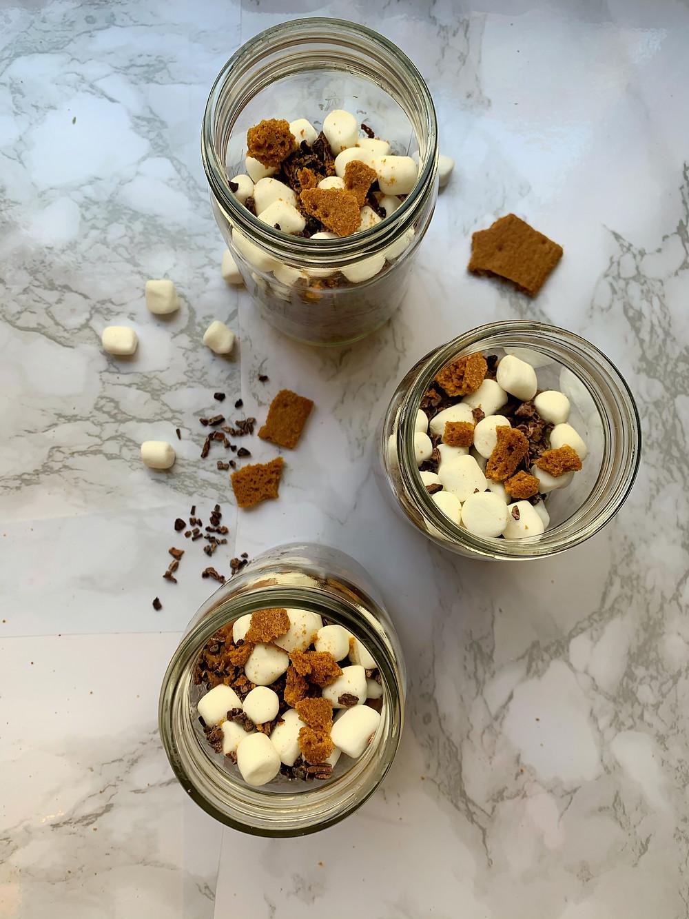 S'mores Chia Seed Pudding (Vegan)