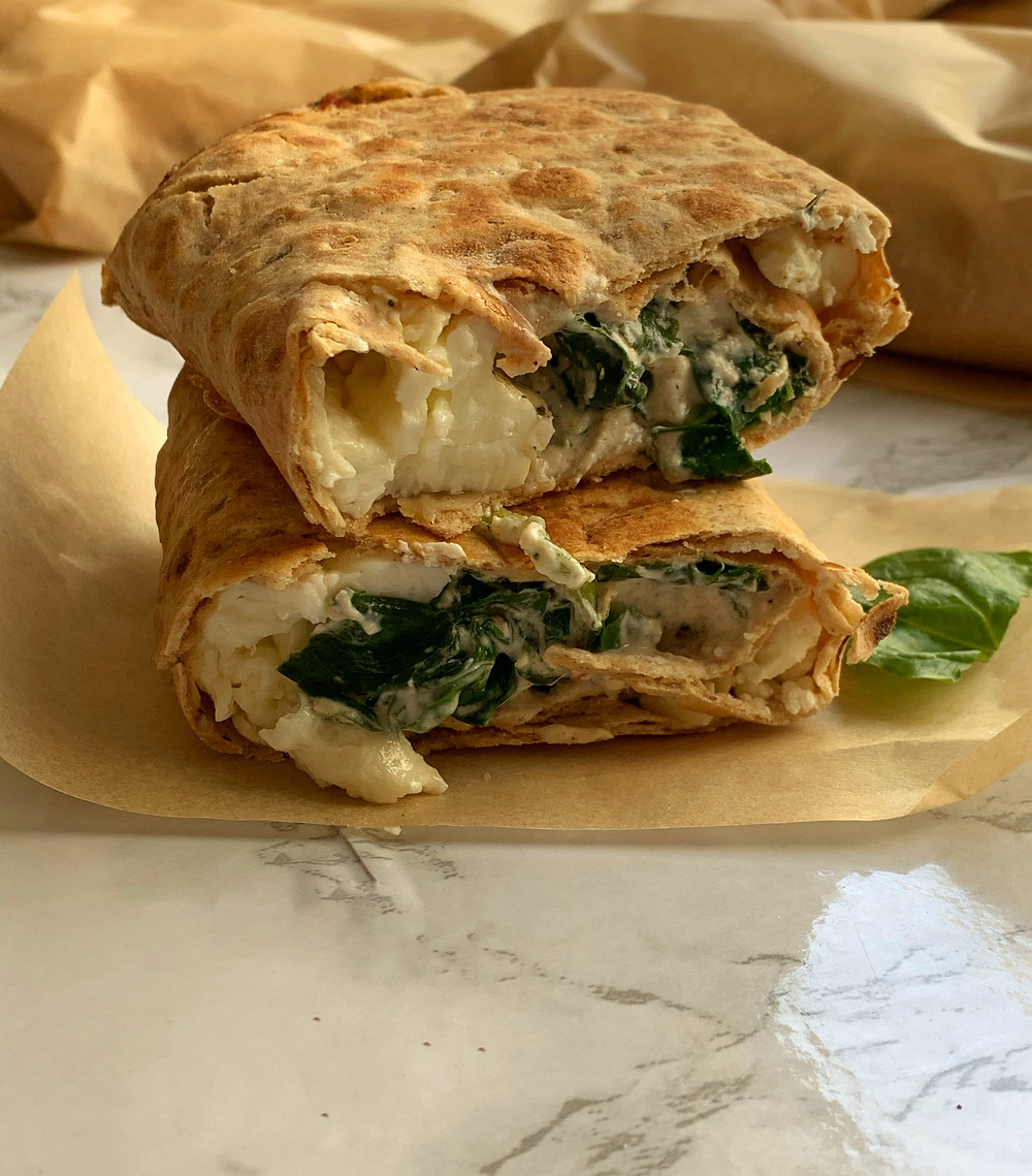 CopyCat Starbucks Spinach Feta and Egg White Wrap