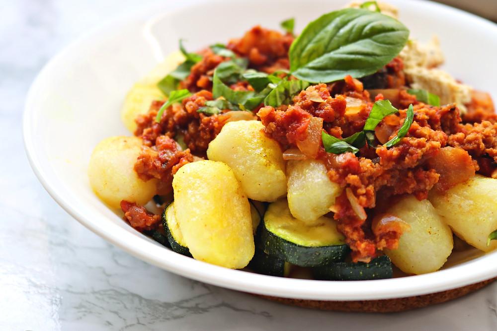 Easy Vegan Bolognese