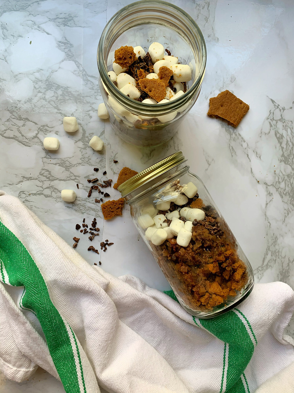 S'mores Chia Seed Pudding