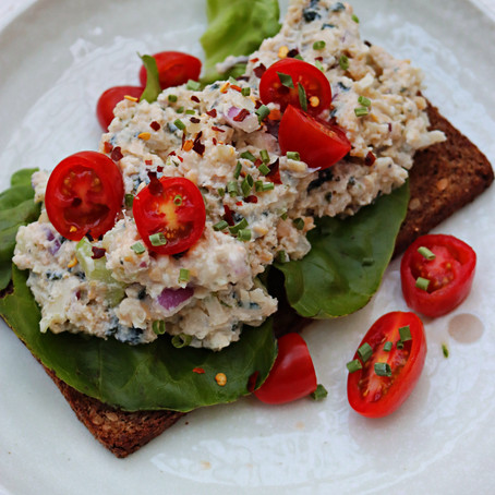 Vegan Tuna Salad (GF)