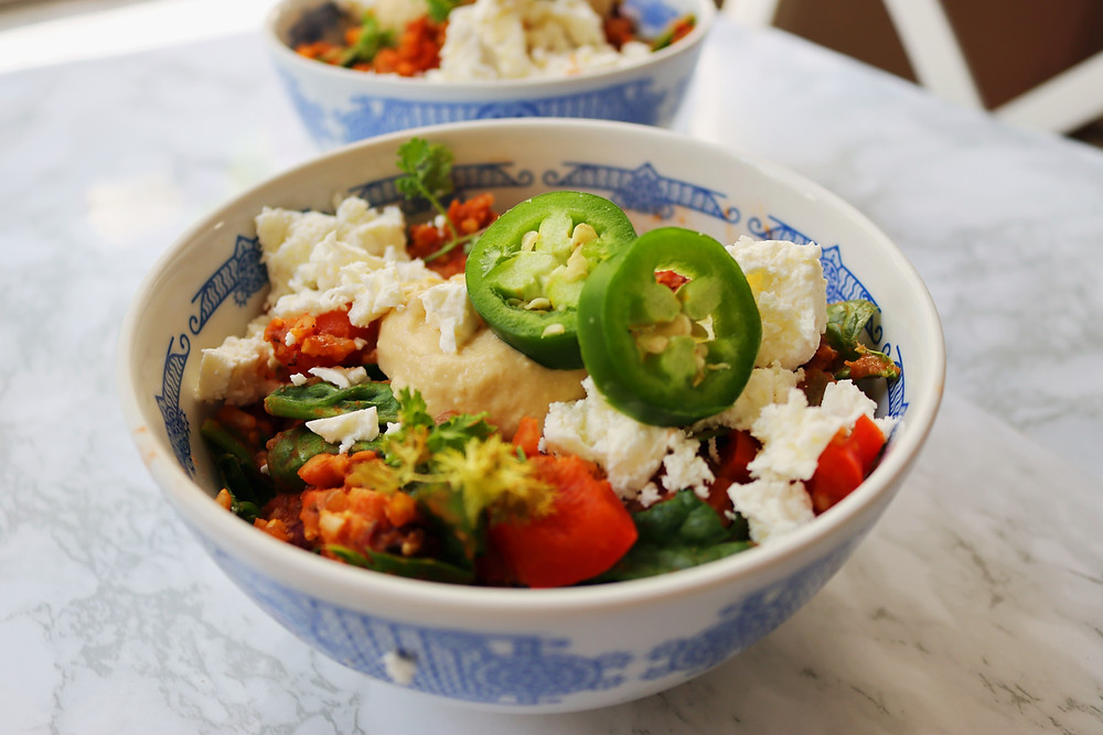 Rice-Cooker Spanish Quinoa and Beans