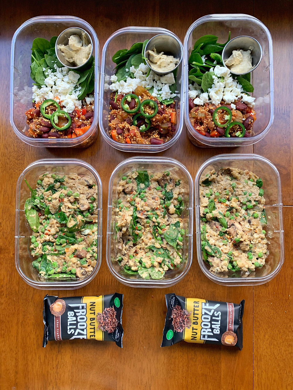 Cauliflower Rice Risotto Meal Prep