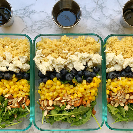Blueberry Corn Salad (GF)