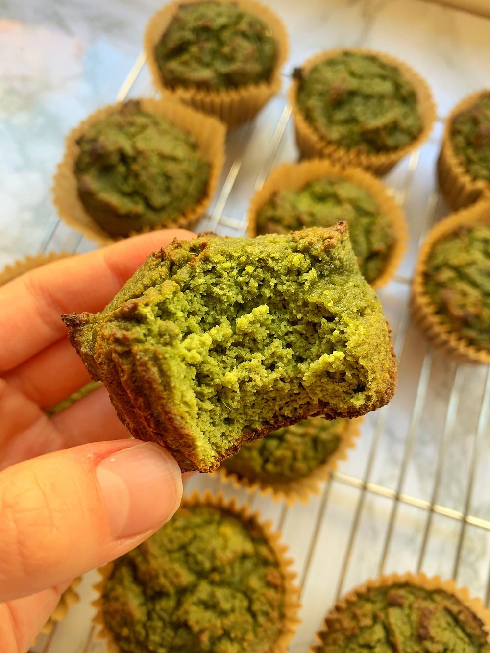 Popeye Protein Muffins (GF)