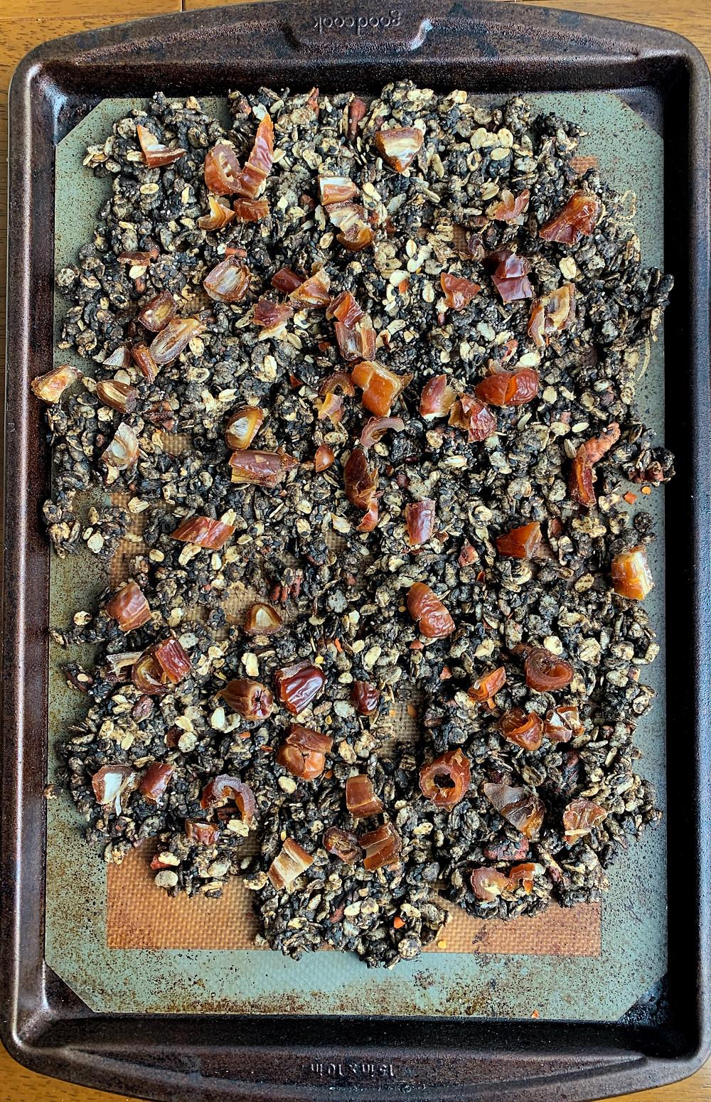 Black Sesame Granola