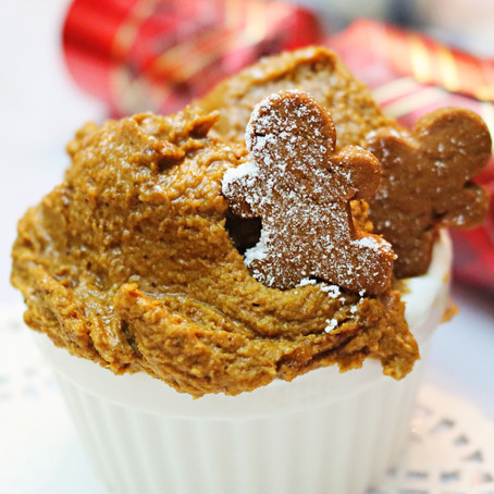Gingerbread Cookie Dough (Vegan, GF)