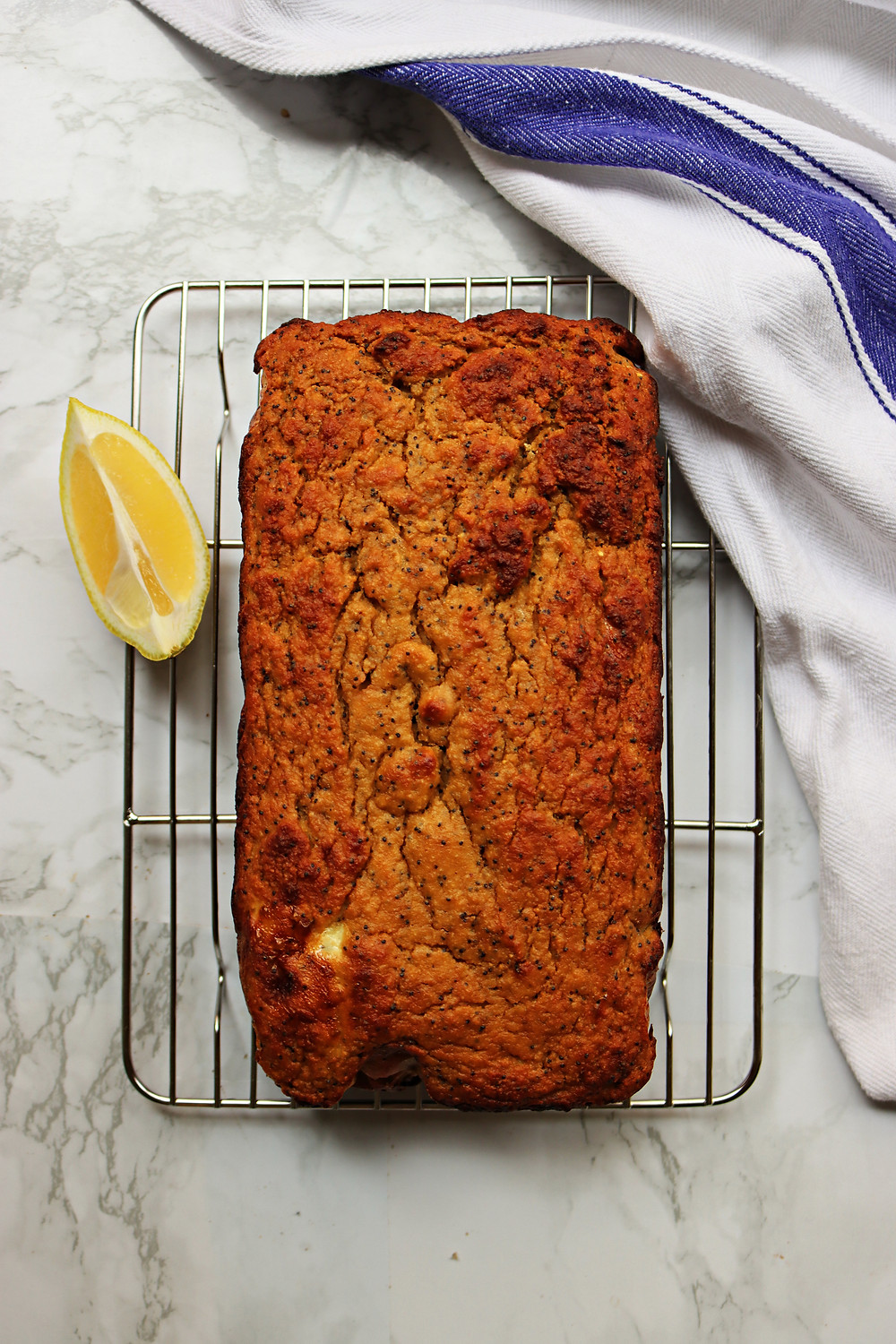 Protein Lemon Poppy Seed Loaf