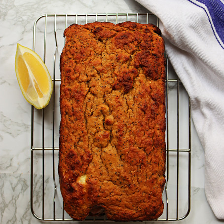 Protein Lemon Poppy Seed Loaf (GF)