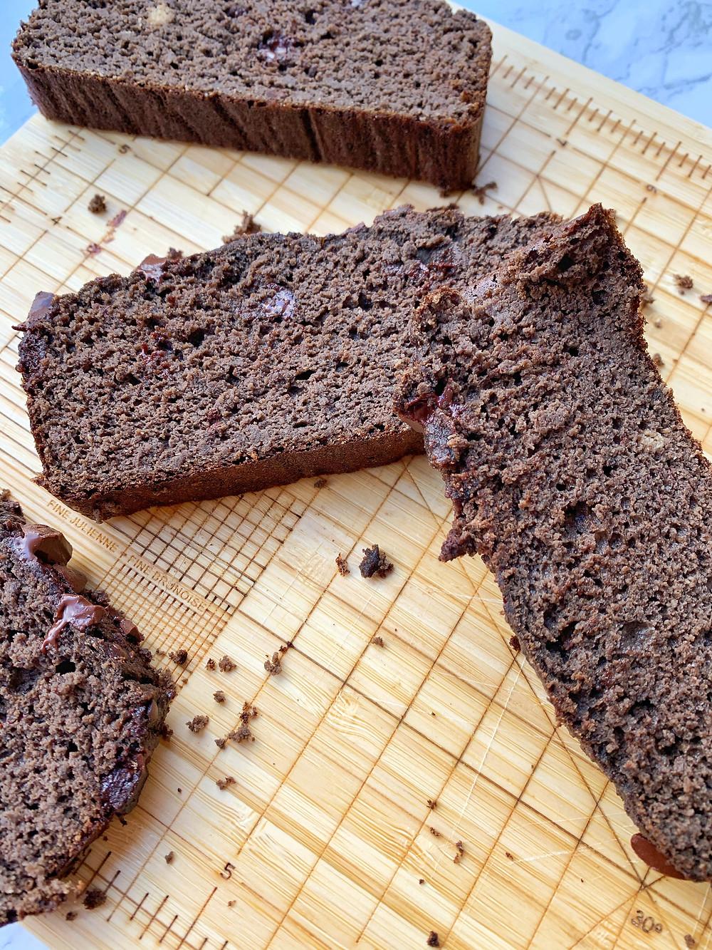 Double Chocolate Chunk Banana Bread