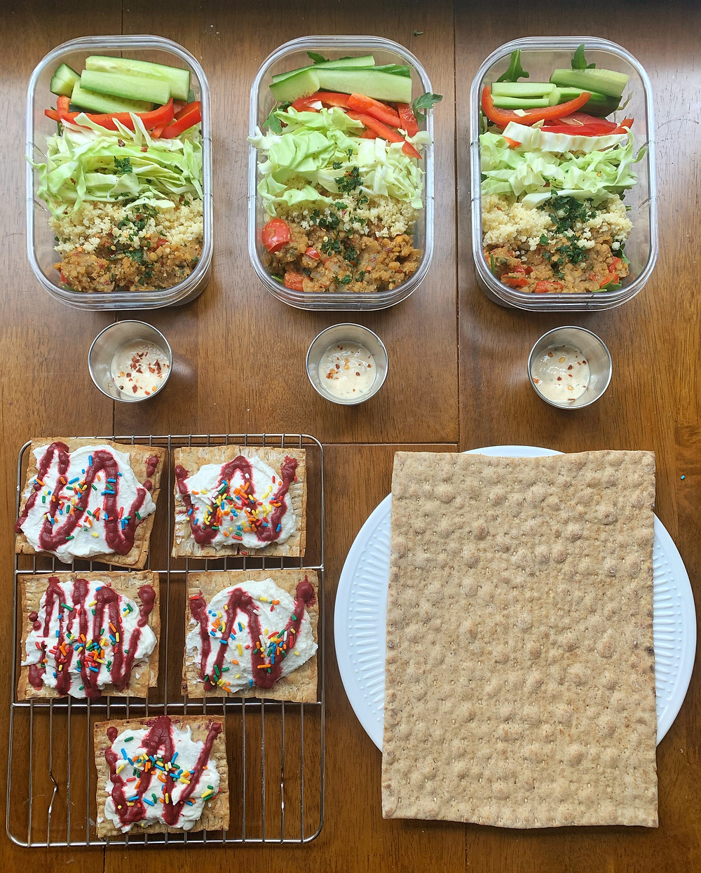Copy Cat Trader Joe's Spicy Lentil Wrap