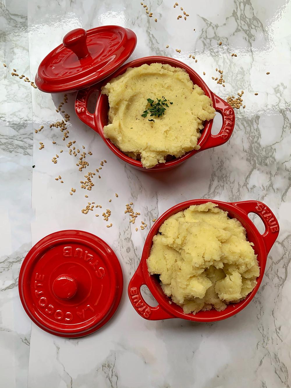 Tahini Mashed Potatoes