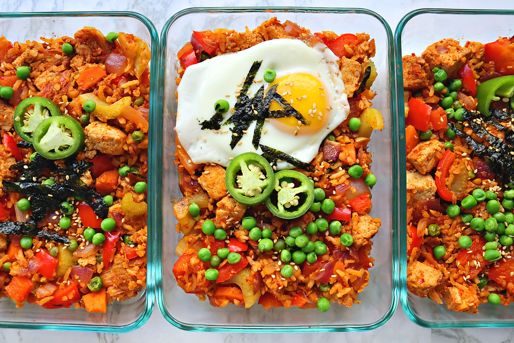 Low Carb Kimchi Fried Rice