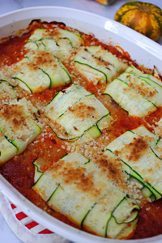 Low-Carb Zucchini Ravioli