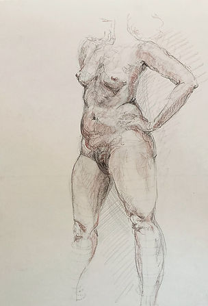torso study by georgina cahill