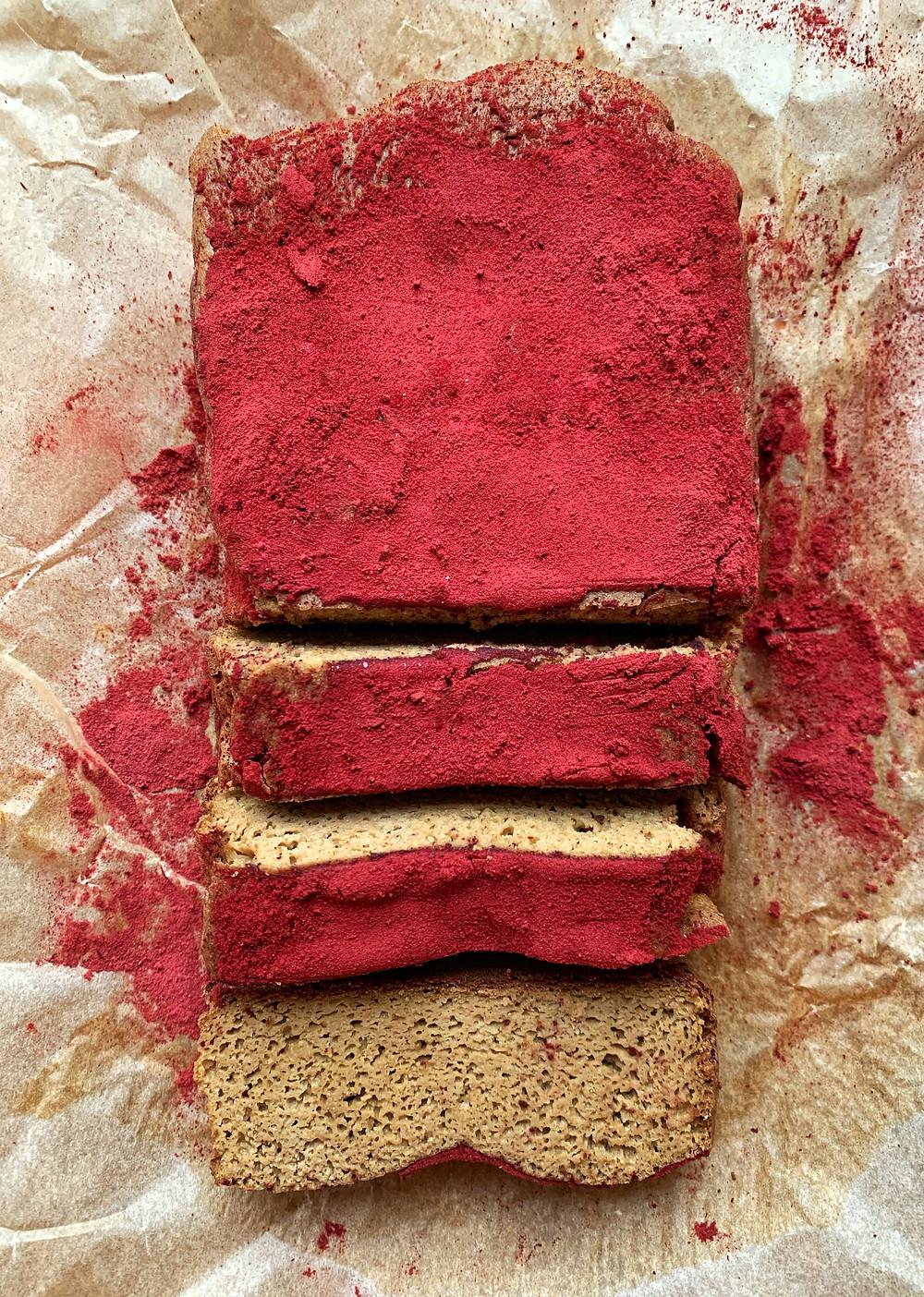 Sweet Beet Protein Cake