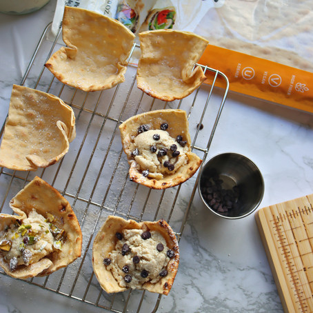 Cannoli Cups (Vegan, High-Protein)