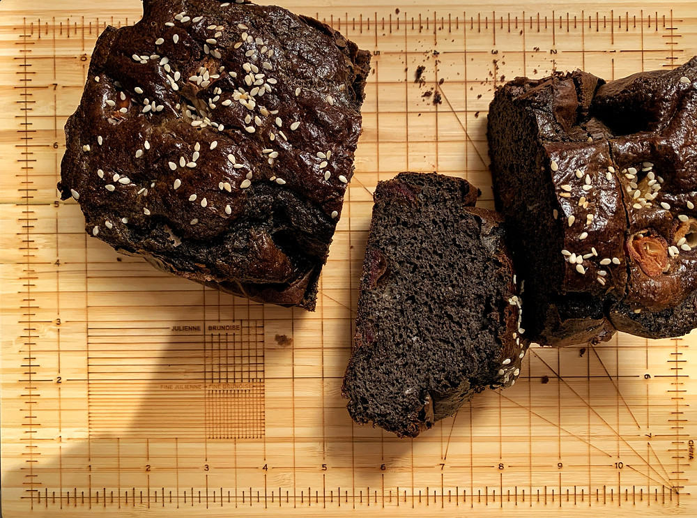 Black Sesame Protein Bread
