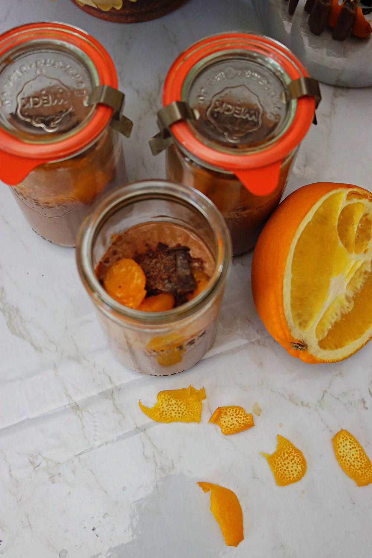 Chocolate Orange Overnight Oats
