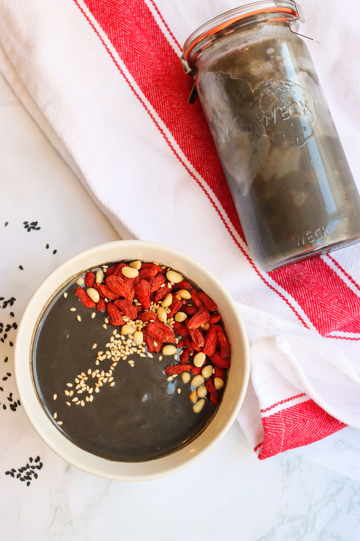 Black Sesame Porridge