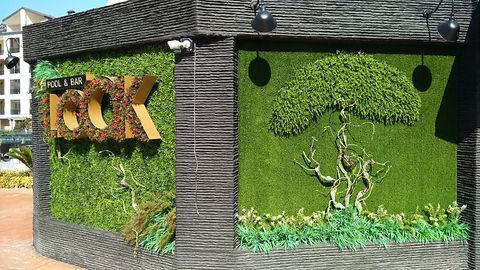 Yapay dikey bahçe