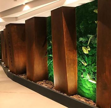 dikey bahçe-yosun duvar