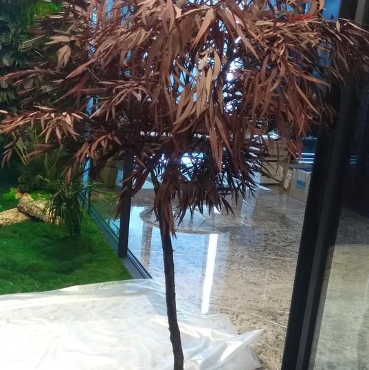 Dondurulmuş Bitki Ağaç