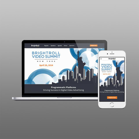 LANDING PAGE DESIGN | BRIGHTROLL FROM YAHOO!