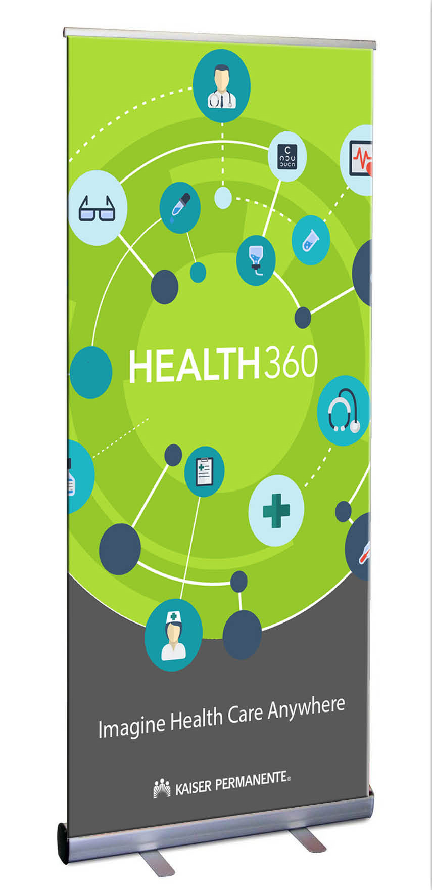 Health 360 Pull-up Banner