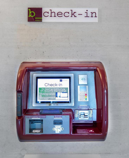 Check-in-Automat