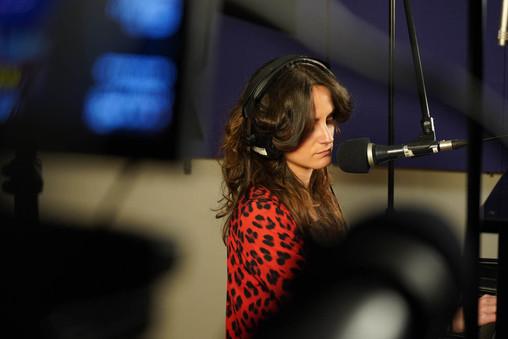 Studio recording photography