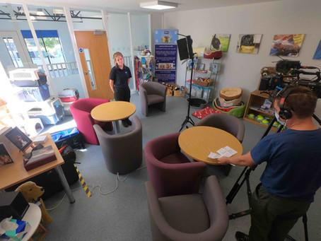 RSPCA Leeds and Wakefield filming